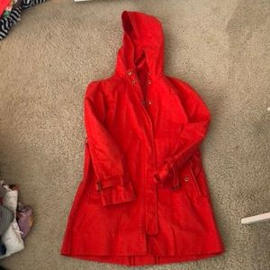 Jcrew hooded jacket